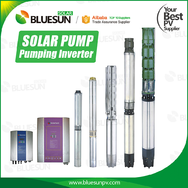 brushless dc solar water pump