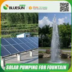 solar powered water fountain pump