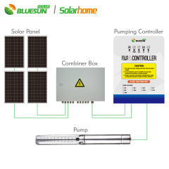 DC Automatic water pump controller manual with water level controller for irrigation-Bluesun