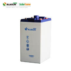 Bluesun Gel Battery 2V 500AH Electronic Batteries For Home Solar System