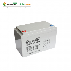 Bluesun AGM 12v 100ah solar battery