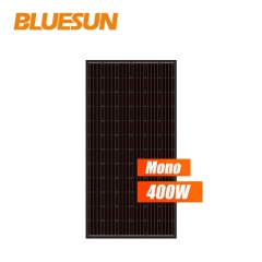 black backsheet and black frames monocrystalline 380w 385watt 390wp 395w solar panel 400 w 390w solar module