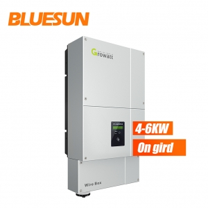5KW solar inverter 3 phase on grid dc to ac grid tie solar power inverter transformerlesss-Bluesun
