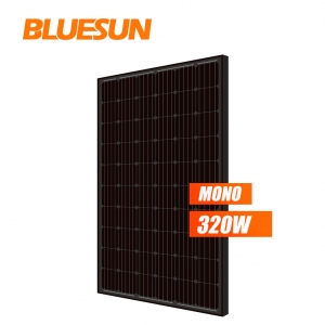 Black Solar glass Panel 300W Mono Poly Black 270w 280w 285w 290w 300W 310w Black Solar Manufacturer