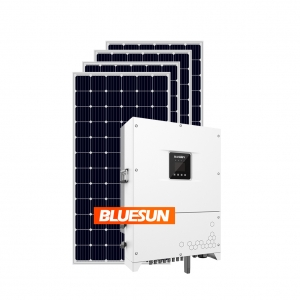 30Kw Solar Energy Systems On Grid Phase Solar System Home