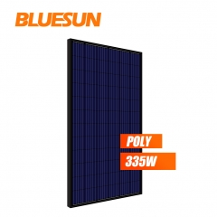 full black poly 335w 335watt solar panel PV module